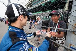 Takuma Sato, Rahal Letterman Lanigan Racing Honda, super fan