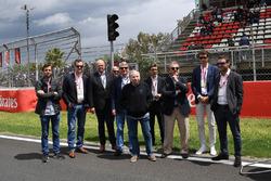 Jean Todt, FIA President na polach startowych