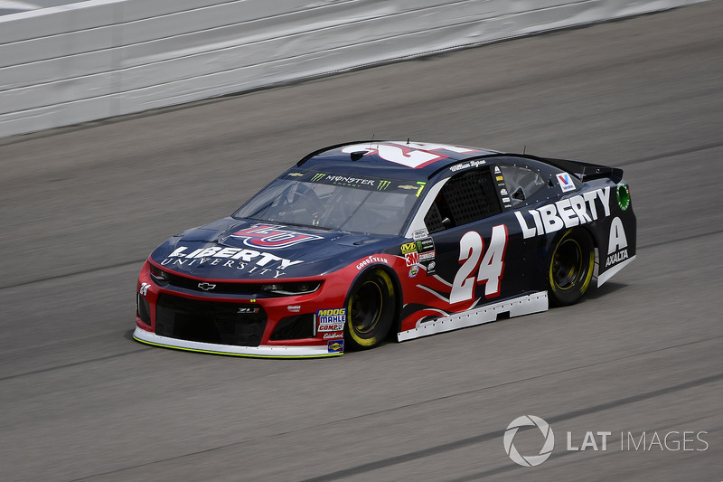 13. William Byron, Hendrick Motorsports, Chevrolet Camaro Liberty University