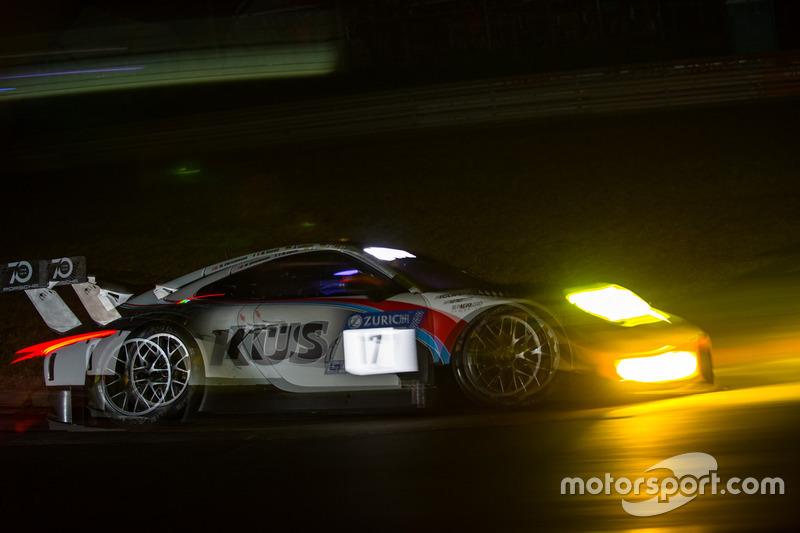 #17 KÜS Team75 Bernhard Porsche GT3 R: Michael Christensen, Matteo Cairoli, Andre Lotterer, Jörg Bergmeister