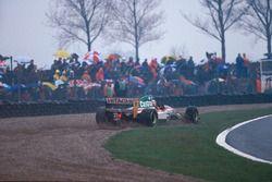 Alessandro Zanardi, Lotus 107B kum havuzunda