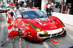 Pole GTD: #51 Spirit of Race Ferrari 488 GT3: Daniel Serra