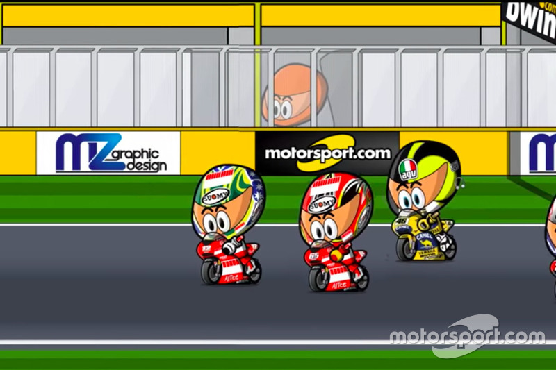 El GP de Valencia 2006 de MotoGP, por MiniBikers