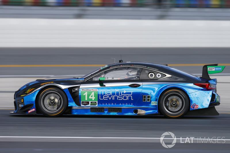 15. GTD: #14 3GT Racing, Lexus RCF GT3