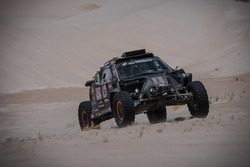 #347 Dakar Jefferies Buggy, Tim Coronel en Tom Coronel