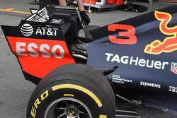Red Bull Racing RB14 detalle trasero