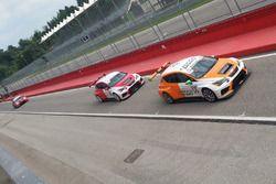 Peter Gross, Seat Cupra TCR, Team Wimmer Werk MS e Gunter Benninger, Seat Cupra TCR, Team Wimmer Werk MS