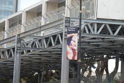 Un panneau Christina Aguilera