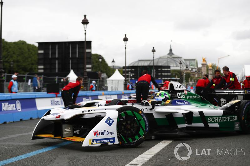 Lucas di Grassi, Audi Sport ABT Schaeffler, ritorna nel garage