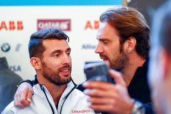 Jean-Eric Vergne, Techeetah, toma una selfie con José María López, Dragon Racing