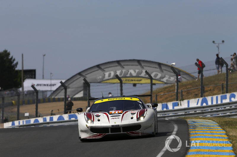 Olivier Beretta: #70 MR Racing Ferrari 488 GTE