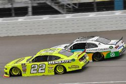 Paul Menard, Team Penske, Ford Mustang Menards/Richmond and Tyler Reddick, JR Motorsports, Chevrolet