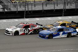 Kaz Grala, Fury Race Cars LLC, Ford Mustang NETTTS and Elliott Sadler, JR Motorsports, Chevrolet Cam