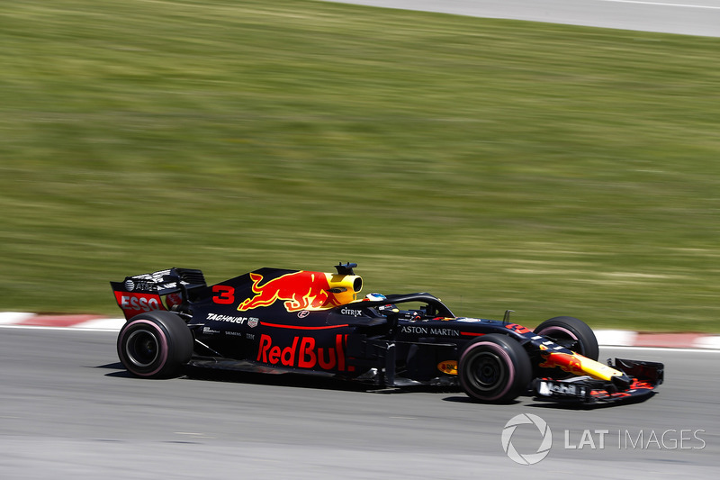 4. Daniel Ricciardo, Red Bull Racing RB14.