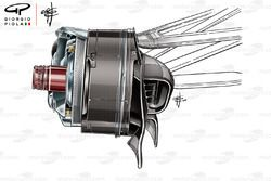 Renault R.S.18 front brake drum