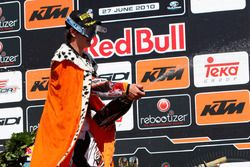 Jeffrey Herlings, Red Bull KTM Factory Racing, wint zijn tweede MX2-wedstrijd in Valkenswaard (2010)