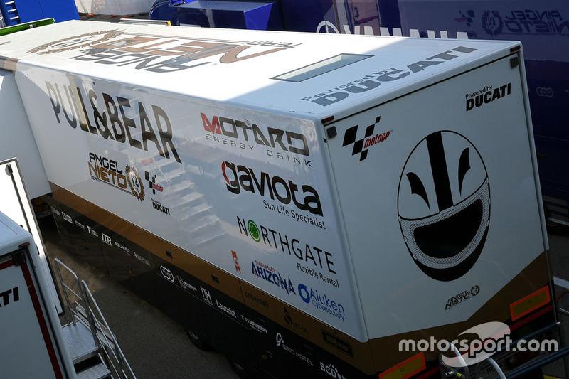 Aspar Racing Team motorhome