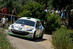 Giampaolo Bizzotto, Sandra Tommasini, Peugeot 207 S2000, La Superba