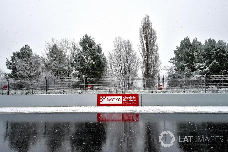 La recta principal y la nieve