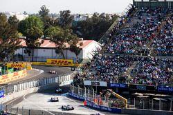 Edoardo Mortara, Venturi Formula E Team & Maro Engel, Venturi Formula E Team, with Felix Rosenqvist,