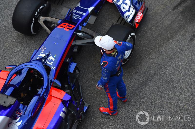 Pierre Gasly, Scuderia Toro Rosso y el Scuderia Toro Rosso STR13