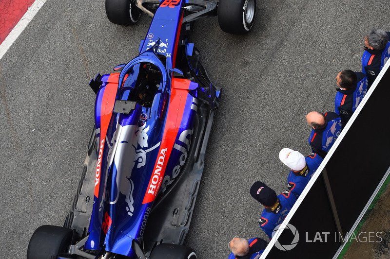El nuevo Scuderia Toro Rosso STR13