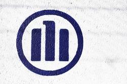 Allianz logo en las barreras