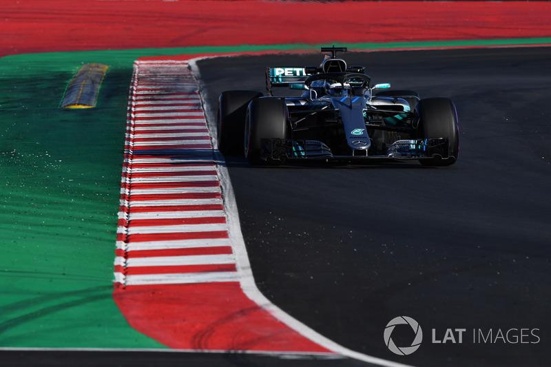 10º Valtteri Bottas, Mercedes-AMG F1 W09: 1:18.560 (Ultrablandos)
