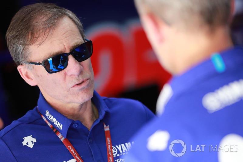 Lin Jarvis, director del equipo Yamaha