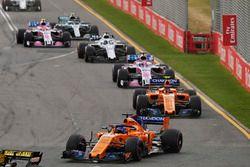 Fernando Alonso, McLaren MCL33 Renault, Stoffel Vandoorne, McLaren MCL33 Renault, Sergio Perez, Force India VJM11 Mercedes, yLance Stroll, Williams FW41 Mercedes