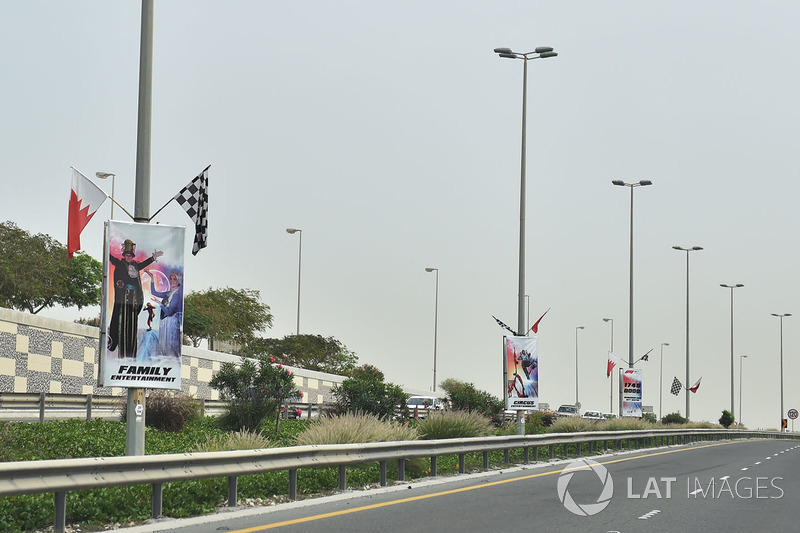 Camino de acceso y señalización