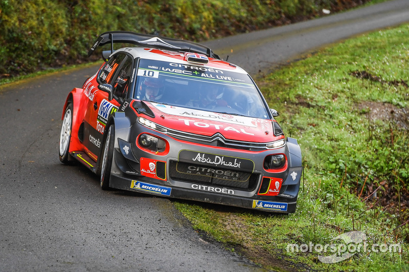 Kris Meeke, Paul Nagle, Citroën World Rally Team Citroën C3 WRC
