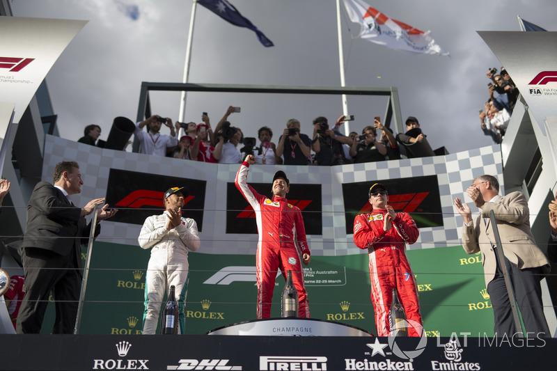 GP d'Australie - Podium