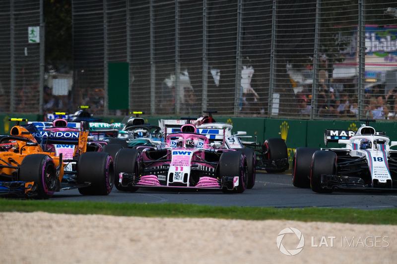 """11e Sergio Perez: """"Inhalen in Melbourne is ontzettend lastig"""""""
