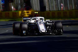 Charles Leclerc, Sauber C37 and sparks