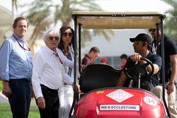 Bernie Ecclestone y Fabiana Ecclestone