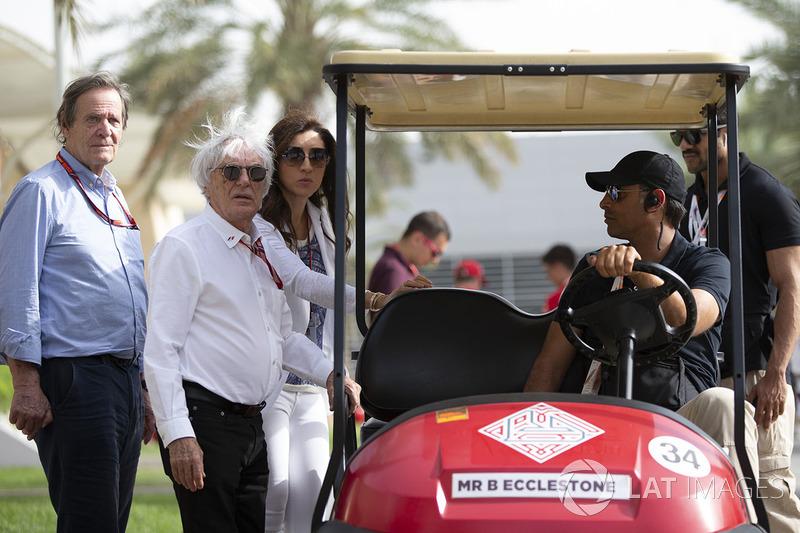 Bernie Ecclestone, et Fabiana Ecclestone