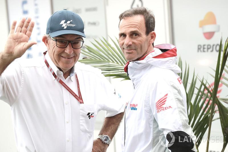 """""""Estamos considerando todas as opções"""", é o que afirma o CEO da Dorna Sports, Carmelo Ezpeleta, sobre o futuro da temporada da MotoGP. O contrato da Dorna obriga a empresa a fazer um mínimo de 13 provas"""