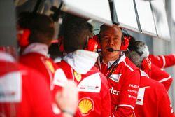 Jock Clear, Direttore dell'ingegneria, Ferrari, al muretto box
