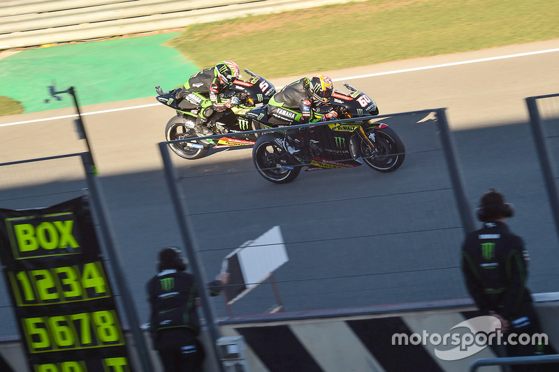 Johann Zarco, Monster Yamaha Tech 3, Michael Van Der Mark, Monster Yamaha Tech 3