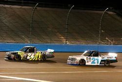 Justin Haley, GMS Racing Chevrolet, Johnny Sauter, GMS Racing Chevrolet