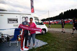 A fan of Max Verstappen, Red Bull Racing