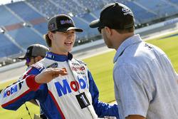 Todd Gilliland, Kyle Busch Motorsports, Toyota Tundra Mobil 1 and David Gilliland