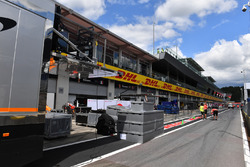 Freight and pit lane