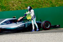 Valtteri Bottas, Mercedes-AMG F1 W09 retires from the race