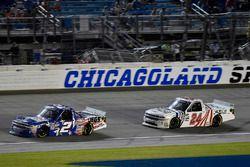 Cody Coughlin, GMS Racing, Chevrolet Silverado Jeg's.com and Justin Haley, GMS Racing, Chevrolet Silverado Fraternal Order Of Eagles