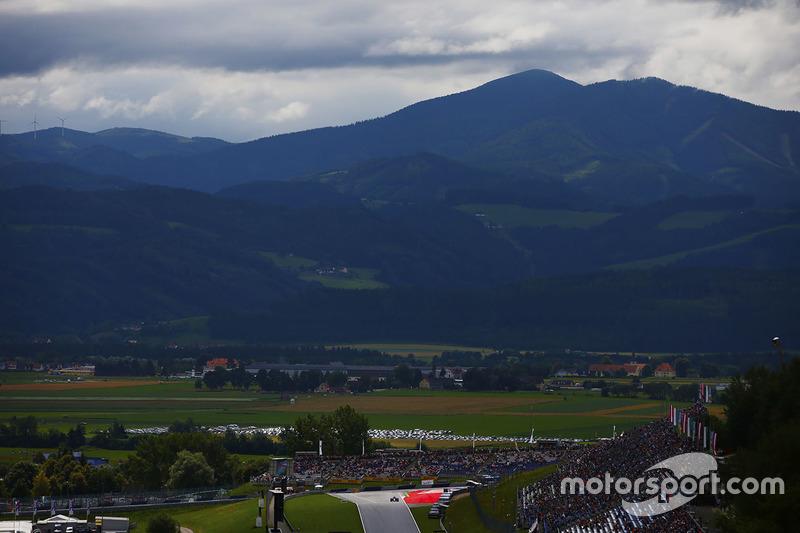 Le paysage autour du Red Bull Ring
