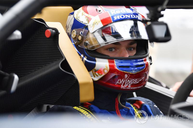 Pierre Gasly, Scuderia Toro Rosso in the KTM X-Bow