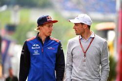 Brendon Hartley, Scuderia Toro Rosso ve Alexander Wurz, Williams Sürücü Koçu