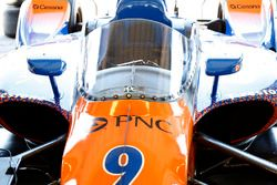Auto von Scott Dixon, Chip Ganassi Racing Honda, mit Ciockpitschutz